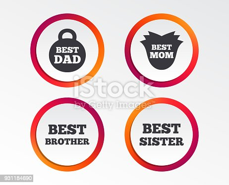 Best Mom And Dad Brother Sister Icons Stock Vector Art More Images