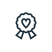 istock best mom icon vector from mothers day concept. Thin line illustration of best mom editable stroke. best mom linear sign for use on web and mobile apps, logo, print media.. 1322693414