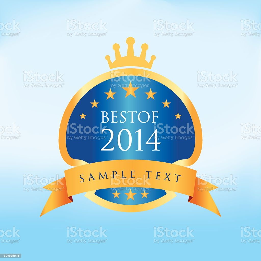 Best of 2014 vector art illustration