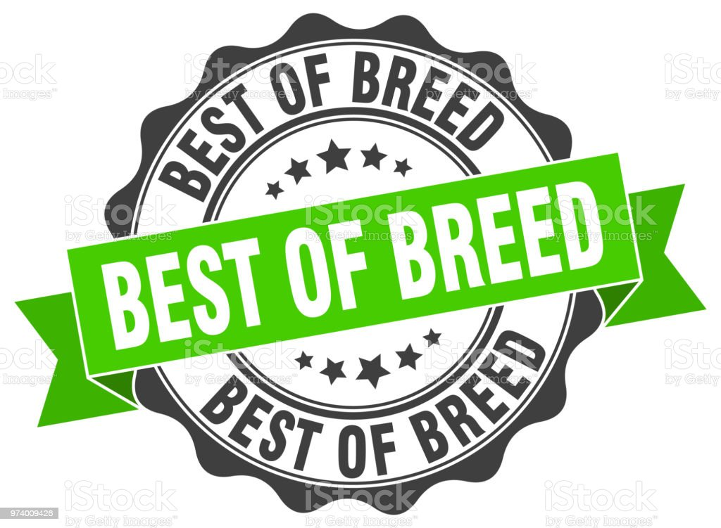 best of breed stamp sign seal stock vector art more images of