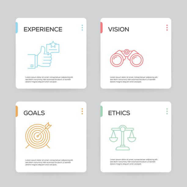 Modèle de conception infographique des meilleures pratiques - Illustration vectorielle