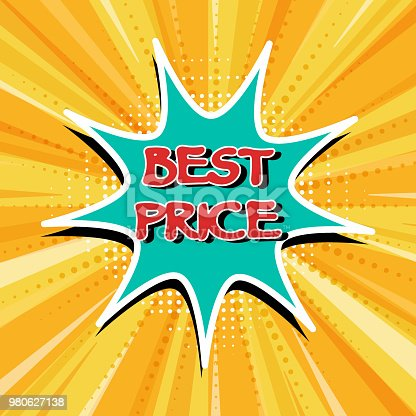 istock Best price. Sticker. 980627138