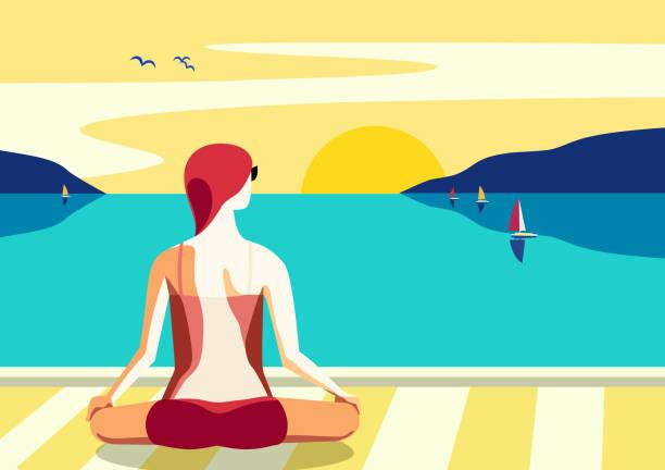 ilustrações de stock, clip art, desenhos animados e ícones de best summer holidays relax - enjoying wealthy life