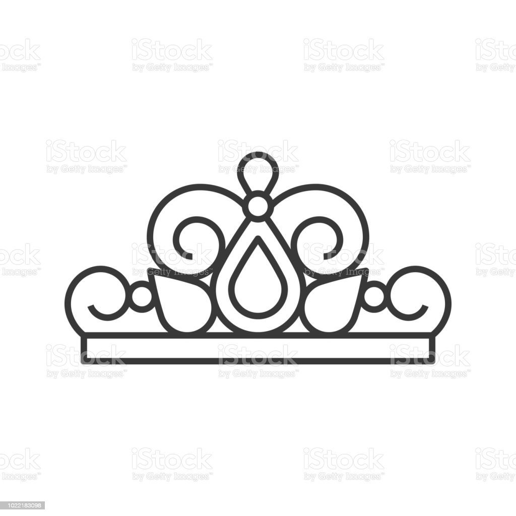 Beuauty Pageant Or Princess Crown Outline Icon Stock Illustration Download Image Now Istock 806 crown outline stock illustrations on gograph. beuauty pageant or princess crown outline icon stock illustration download image now istock