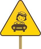 Illustration of a warning alert sign.