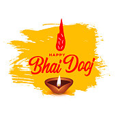 istock Bhaubeej celebration indian traditional festival background design 1281810576