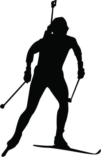 Biathlon competitor