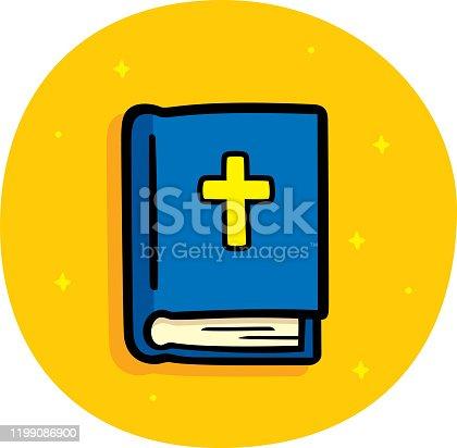 istock Bible Doodle 1199086900