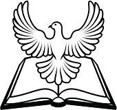 Holy Spirit Dove Clip Art, Free Vector Holy Spirit Dove