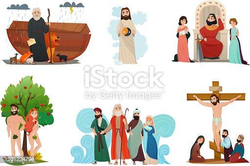 istock bible story set 1201224794