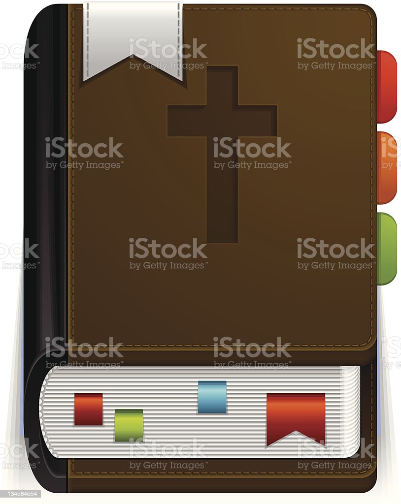 Bible royalty-free stock vector art