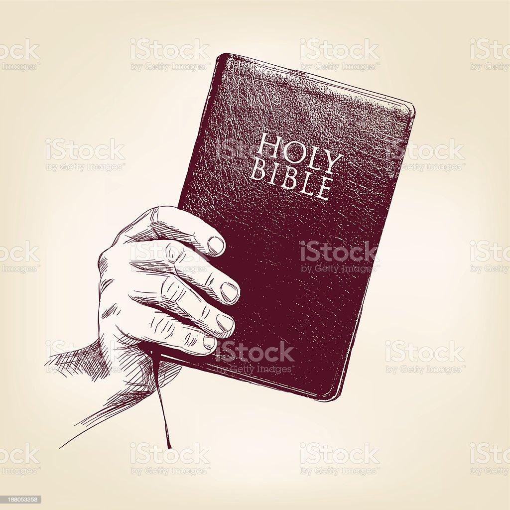Bible vector llustration vector art illustration