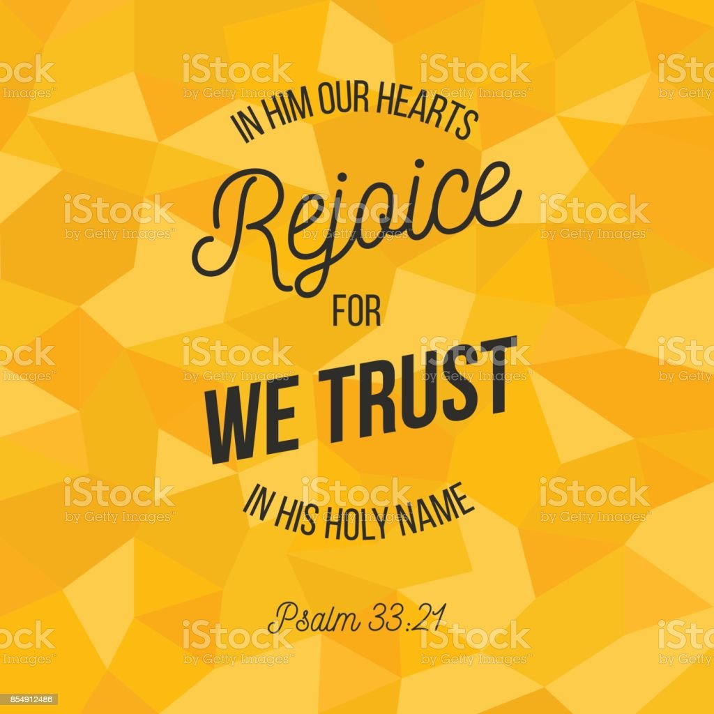 Bible Verse For Christian Or Catholic About Trust In God With All ...