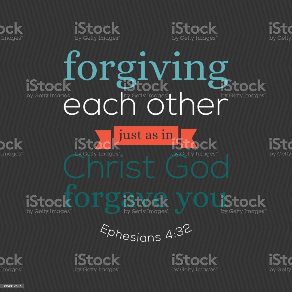bible verse for christian or catholic vector art illustration