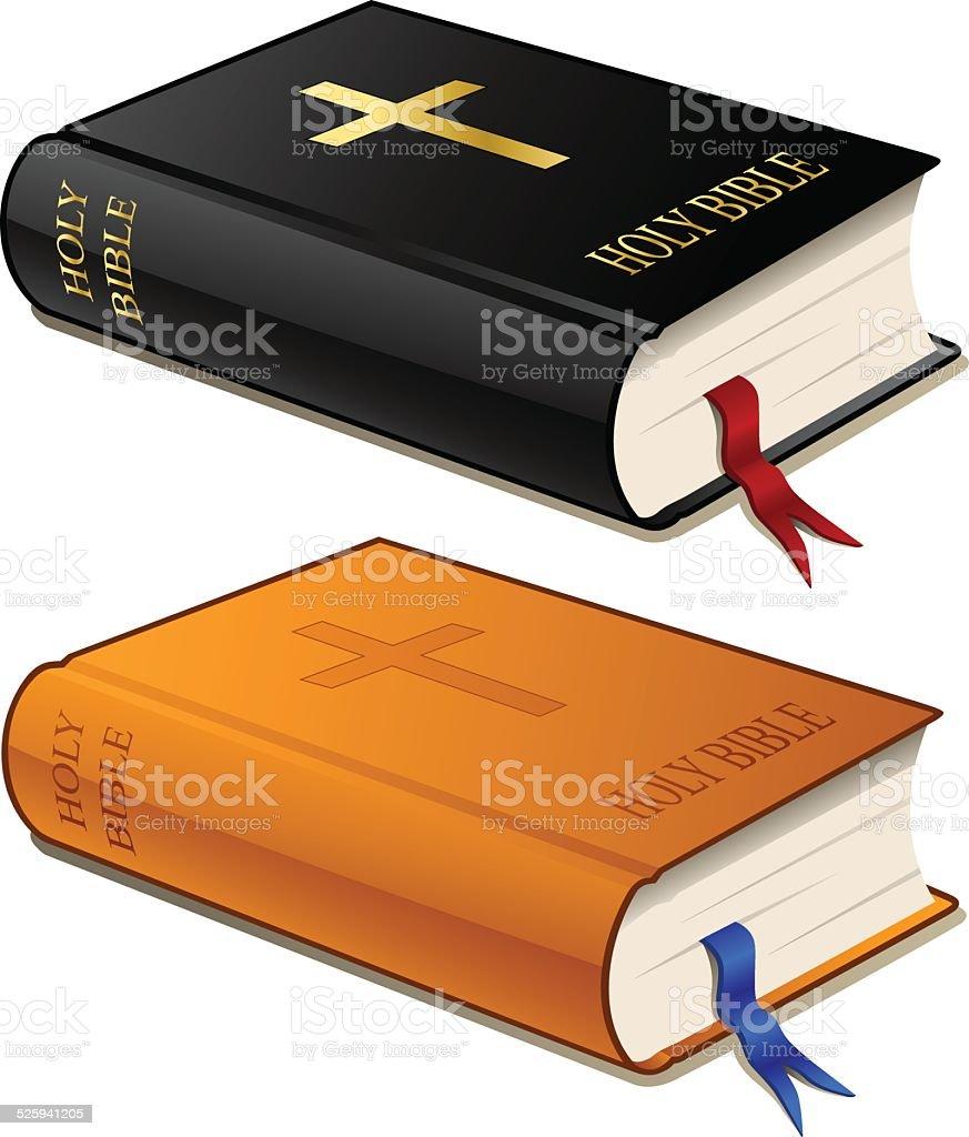 Bibles vector art illustration