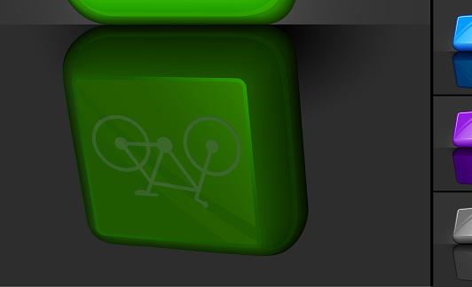 Bicycle 3D button design
