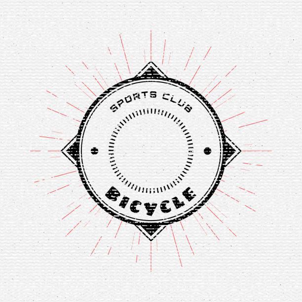 ilustraciones, imágenes clip art, dibujos animados e iconos de stock de bicicleta credenciales los logotipos y etiquetas para cualquier uso - pedal