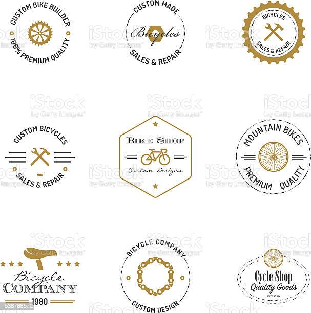 Bicycle builder badges with text vector id538788572?b=1&k=6&m=538788572&s=612x612&h=0plkrgrhxejfc7uazo xjp9hu8lo2svgz2euvz 6jhs=