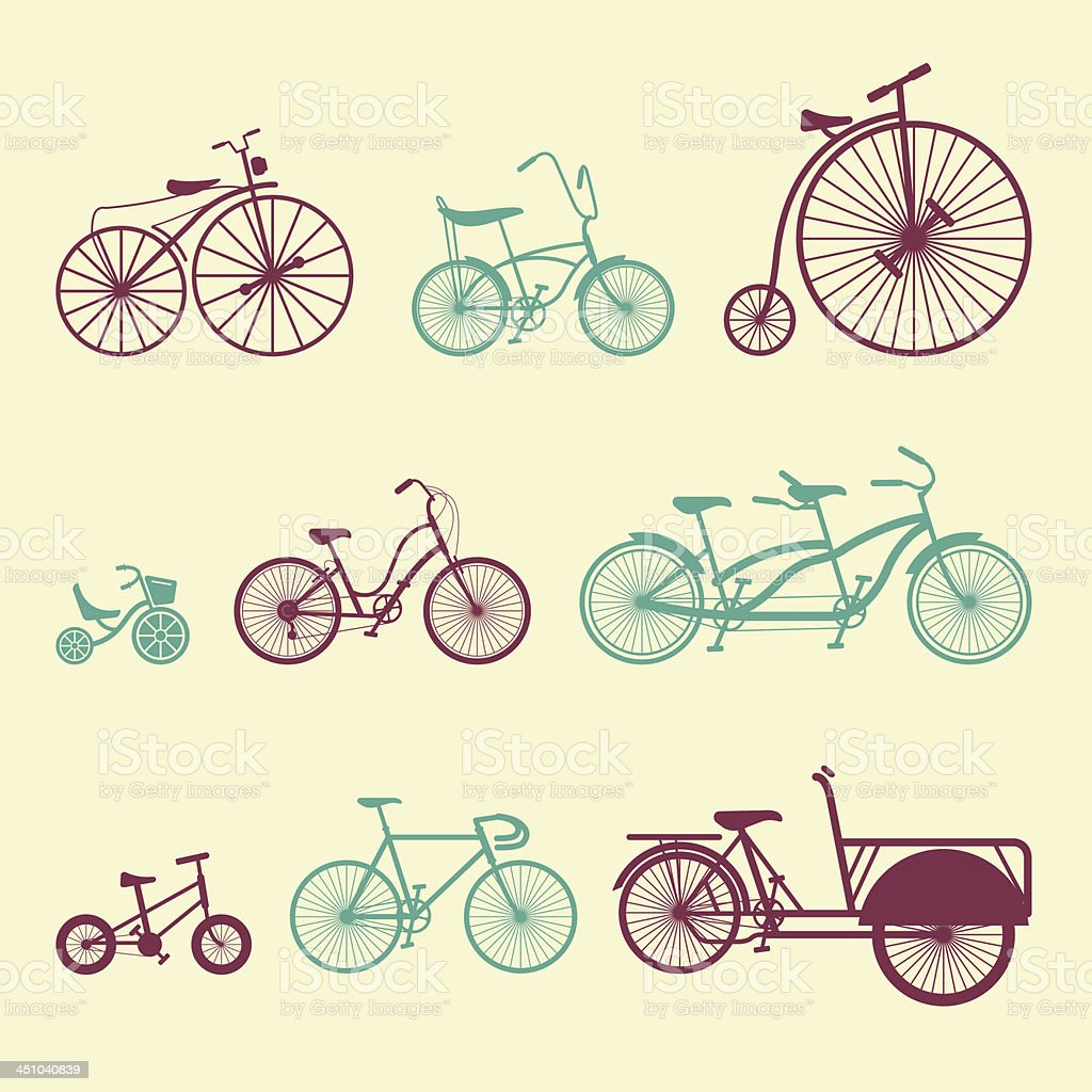 Bicycle - Color Series | EPS10 vector art illustration
