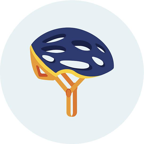 fahrradhelm - sportschutzhelm stock-grafiken, -clipart, -cartoons und -symbole