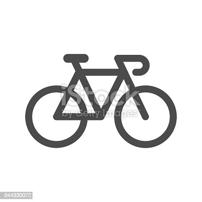 Bicycle Icon Vector EPS File.