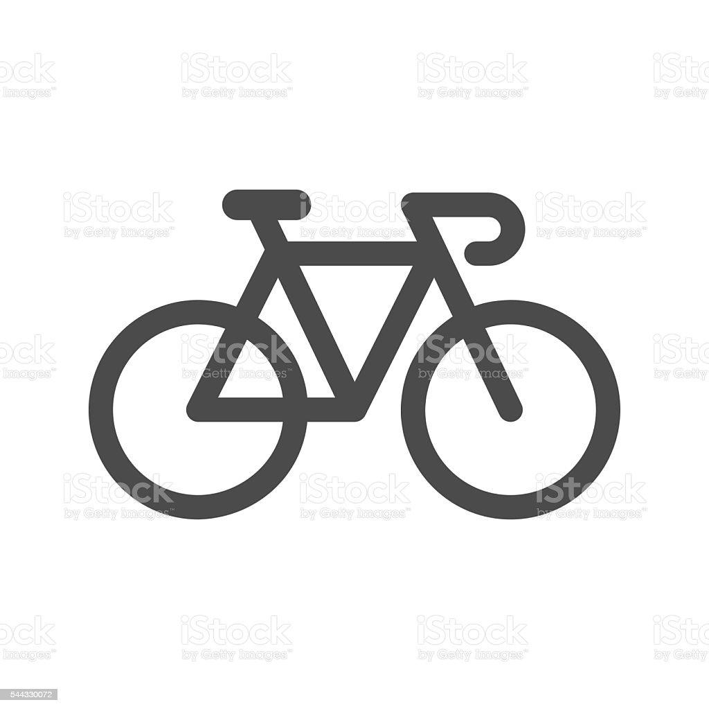 Ícone de Bicicleta - ilustração de arte vetorial
