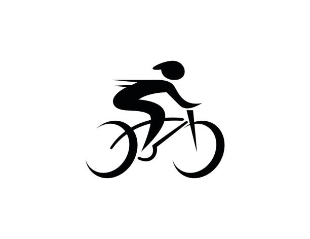 bicycle icon - bike stock illustrations, clip art, cartoons, & icons