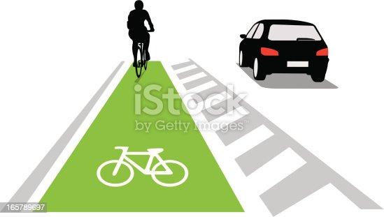 Bicycle lane concept
