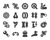 Bicycle Parts - Icons