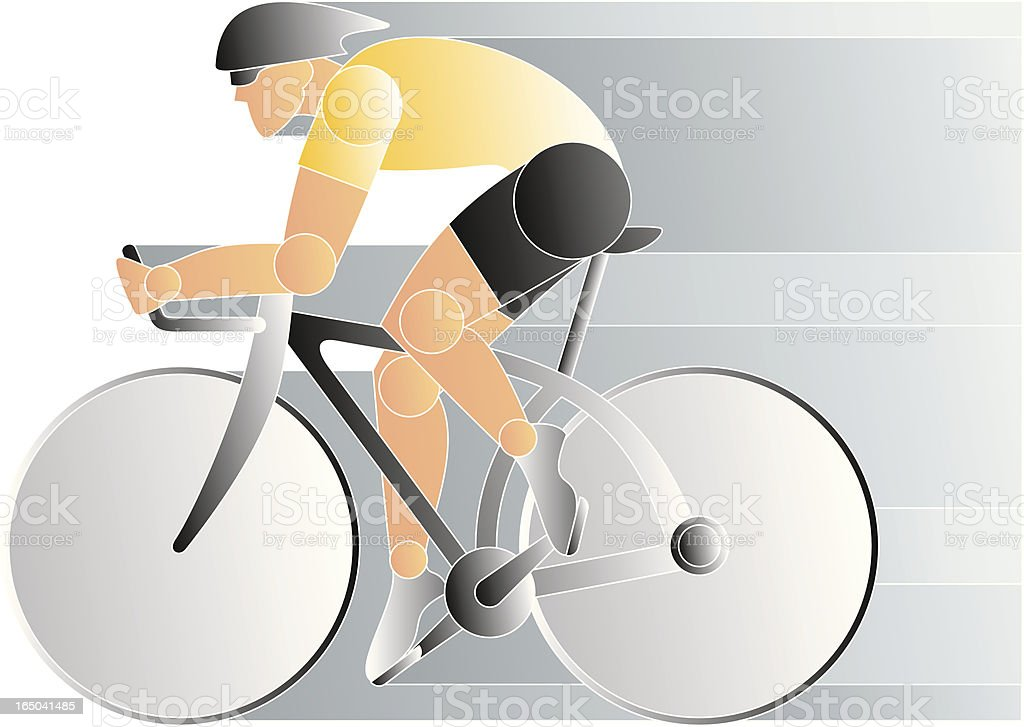 bicycle racer royalty-free bicycle racer stock vector art & more images of beauty