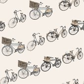 Bicycle Seamless Repeat