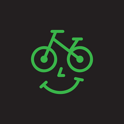 Bicycle shop icon