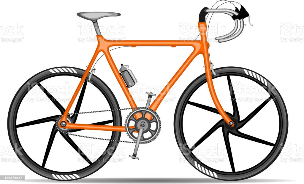 Bicycle ( Cycle ). vector art illustration