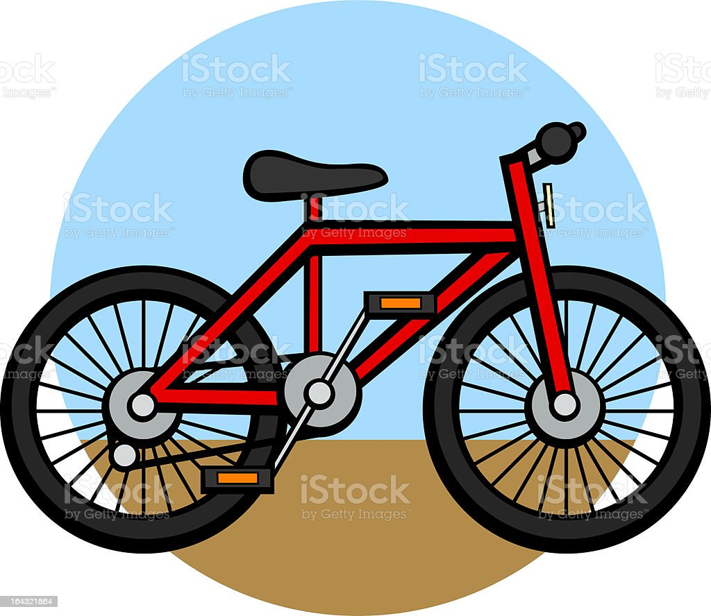 bicycle royalty-free bicycle stock vector art & more images of bicycle
