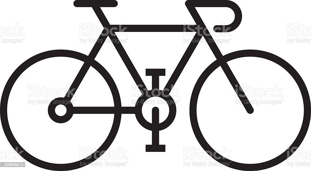 Bicicleta  - ilustración de arte vectorial