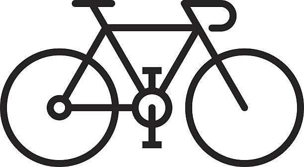 bicycle - bike stock illustrations, clip art, cartoons, & icons