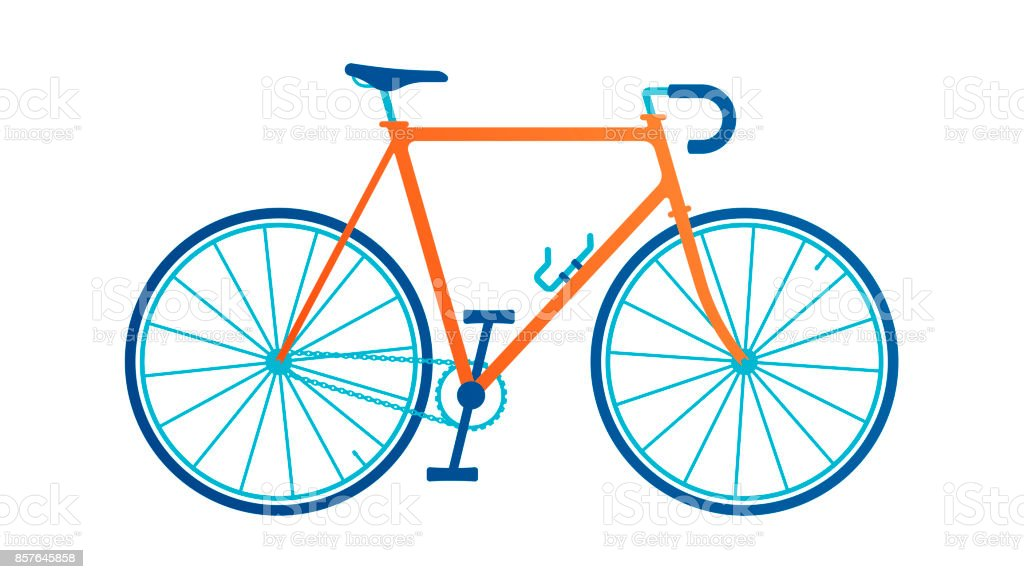 Bicycle - illustrazione arte vettoriale