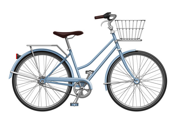 荷物自転車 - 自転車点のイラスト素材/クリップアート素材/マンガ素材/アイコン素材