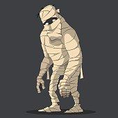 Big and sad mummy