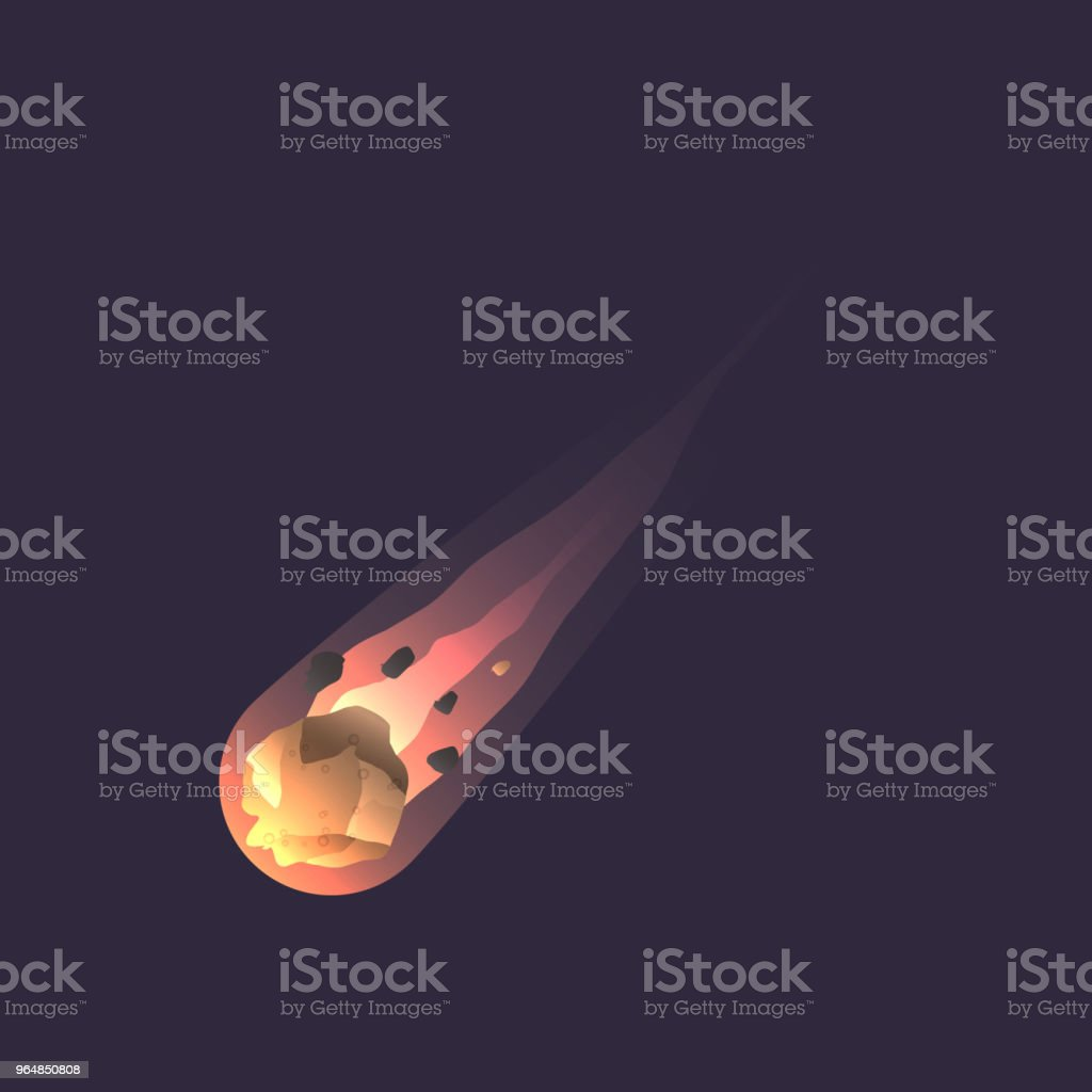Big asteroid in deep space icon royalty-free big asteroid in deep space icon stock vector art & more images of asteroid