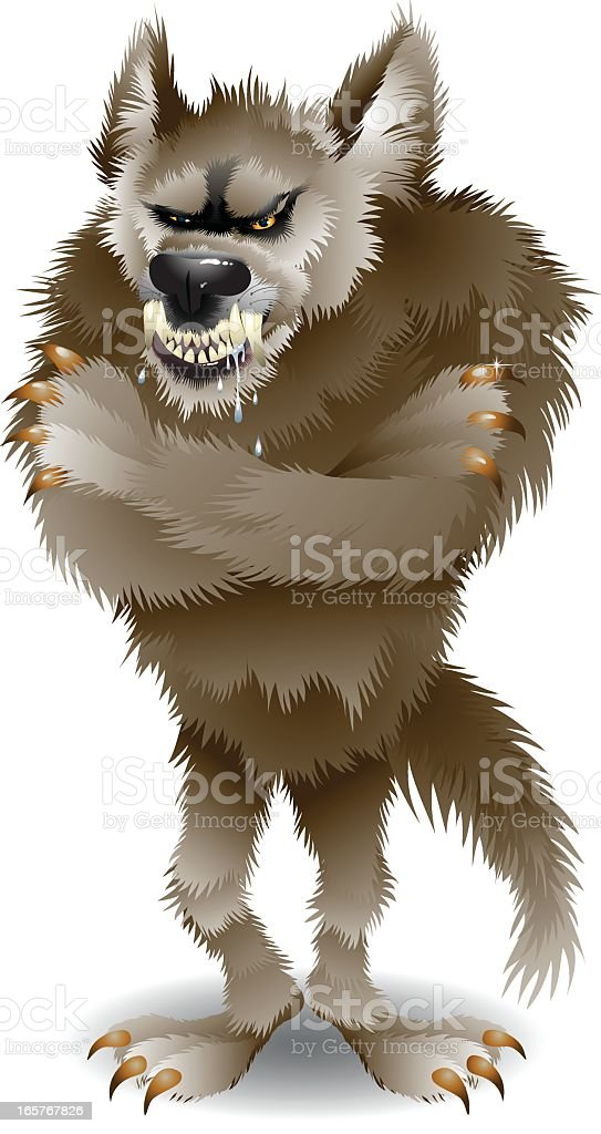 Big Bad Wolf royalty-free big bad wolf stock vector art & more images of aggression