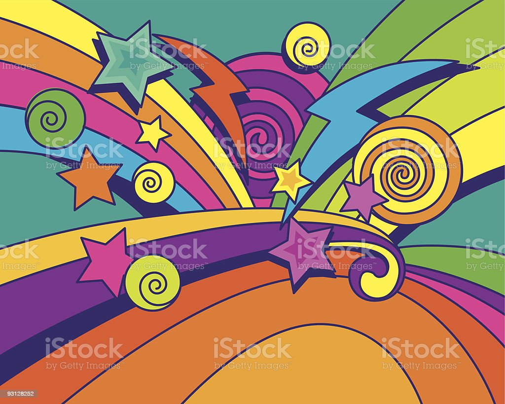 Big Bang Background!!! royalty-free stock vector art