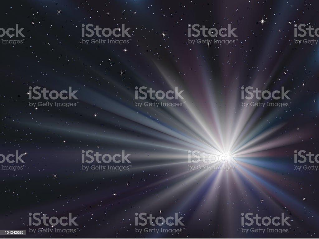 big bang royalty-free stock vector art