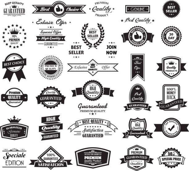 Big Banner and Label Collection vector art illustration