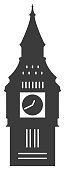 Vector of Big Ben Icon