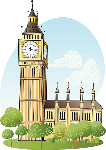 big ben, london - wochenendreisen stock-grafiken, -clipart, -cartoons und -symbole