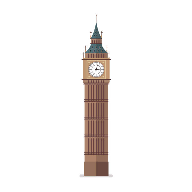 Big Ben vector illustration vector art illustration