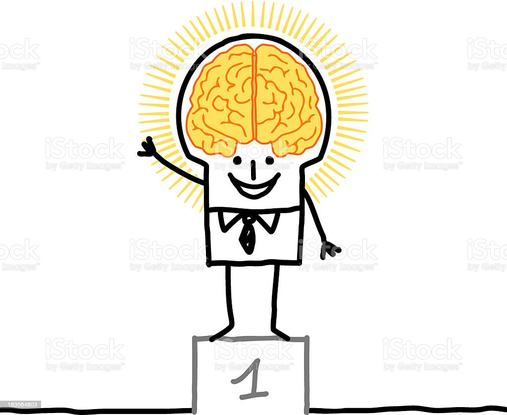 Big brain man excellence stock vector art more images of adult big brain man excellence royalty free big brain man excellence stock vector art amp thecheapjerseys Choice Image