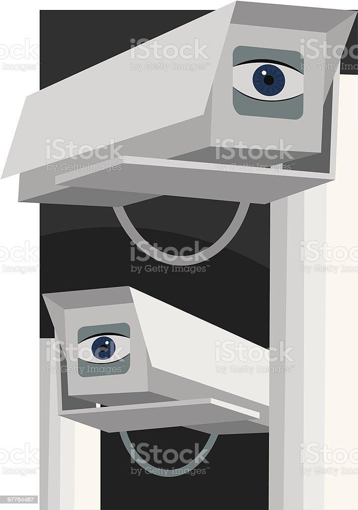 Big Brother vector art illustration