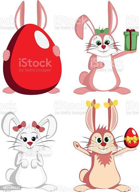 Big bunny collection sweet female rabbit mascots vector id482499333?b=1&k=6&m=482499333&s=612x612&h=uir0tbi og277r6rrzuy4491lxzjy6qy95wikb5u7js=
